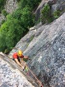 Rock Climbing Photo: Fat Back