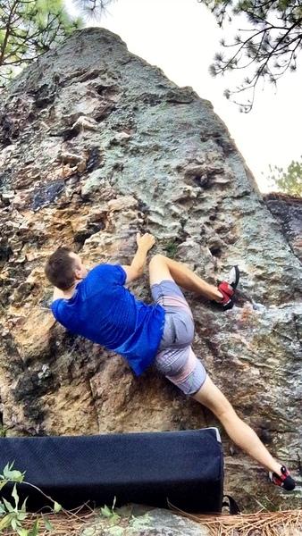 heel hook that makes start easier/smoother