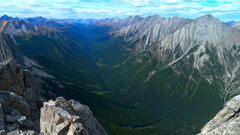 Rock Climbing Photo: View from the summit of Mount Louis.