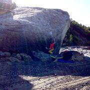Rock Climbing Photo: Really fun line