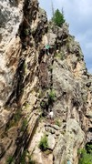 "Rock Climbing Photo: Summer evening climbing on ""TWCTWD"". Aug..."