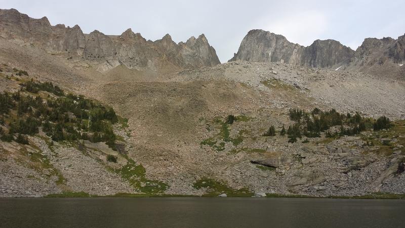 Cottonwood Lake Cirque