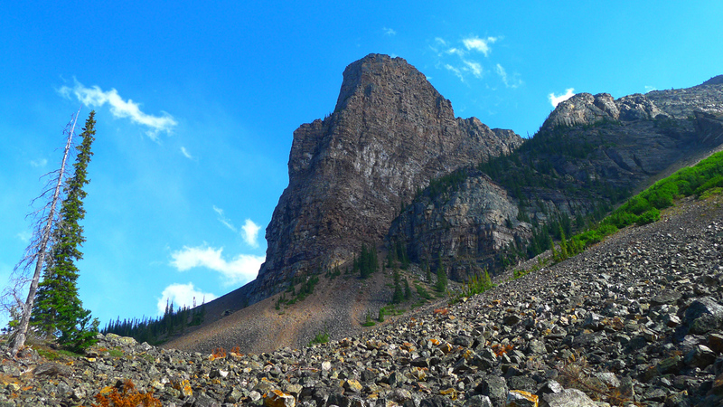 Tower of Babel as seen from the Consolation Lakes Trail.