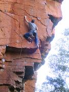 Rock Climbing Photo: Lotter's Desire.