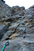 Rock Climbing Photo: To get to the source of the falls, climb one more ...