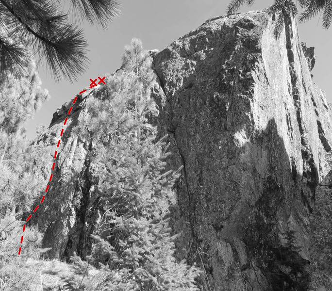 Topo of Shorty, 5.9