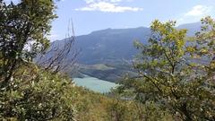 Rock Climbing Photo: View back down to Lago di Toblino
