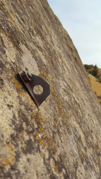 A fun collection of ragged nylon anchors and second-generation bolts offer treats to climb history enthusiasts.