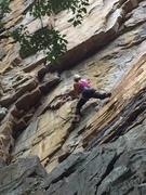 Rock Climbing Photo: Story of my life 11b @ foster falls