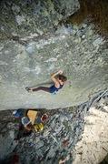 Rock Climbing Photo: Cheyenne on GB