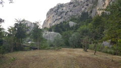 Rock Climbing Photo: Boulder A from the road walking from the Californi...