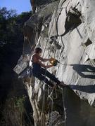 Rock Climbing Photo: bolting Yahoo Predator 13b