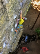 "Rock Climbing Photo: Tuned in to ""Radio Static"" at the Emeral..."