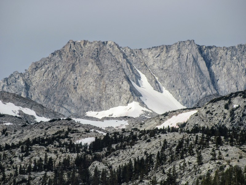 Rock Climbing Photo: Mt Thompson as seen from South Lake