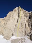 Rock Climbing Photo: Hairline V 5.10d C2+ 2000'