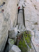 Rock Climbing Photo: RS on the Double Cracks P12