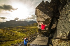 Rock Climbing Photo: Something new in the form of a gift from Hatcher P...