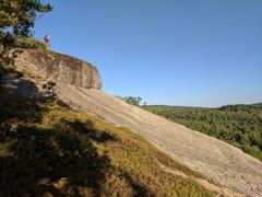 Rock Climbing Photo: Lookout at the top of Main Face