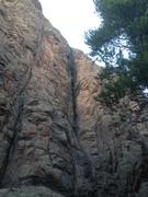Rock Climbing Photo: Dark Matter.