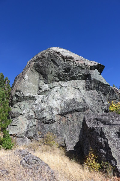 "The ""Dog's Face"" of The Spire at Split Rock"
