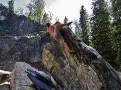 Rock Climbing Photo: K. Redberg on S&S