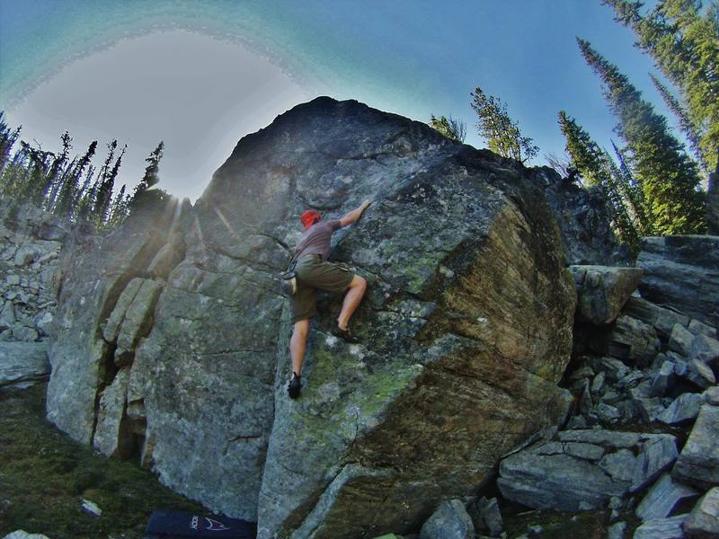 Rock Climbing Photo: I. Chesser on 'GPD'