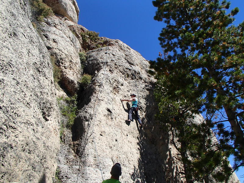 """Paula King Smith on """"How The West Was Won"""", 5.10 c/d Cowboy Poetry Wall, Wild Iris"""