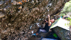 Rock Climbing Photo: Ghost in the Attic V6FA