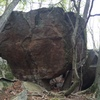 Here is a face view of the Boulder