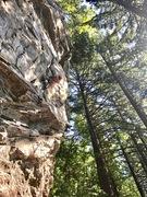 Rock Climbing Photo: Cool climb.