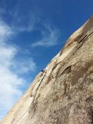 Rock Climbing Photo: Ben on Double Dip  2015
