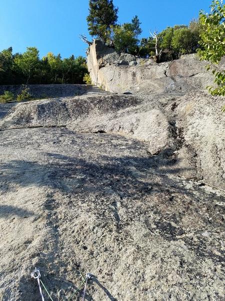 Rock Climbing Photo: P3 of Black Tourmaline (5.7)