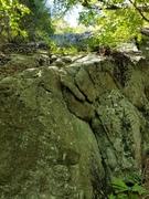 Rock Climbing Photo: Interloper (5.8)