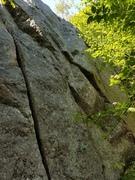 Rock Climbing Photo: Pimping Pinksky (5.12a)