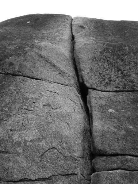 Black granite splitter!
