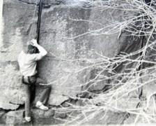Mark Skapyak. Jammermeister in tennies, 1975.