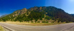 Rock Climbing Photo: Pano of Allenspur!