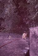 Rock Climbing Photo: Mark Skapyak, 1983.