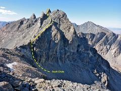 Rock Climbing Photo: Dragon Peak South Chute