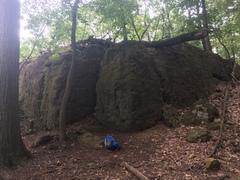 Rock Climbing Photo: TRAIL WALL. CLIMB #12