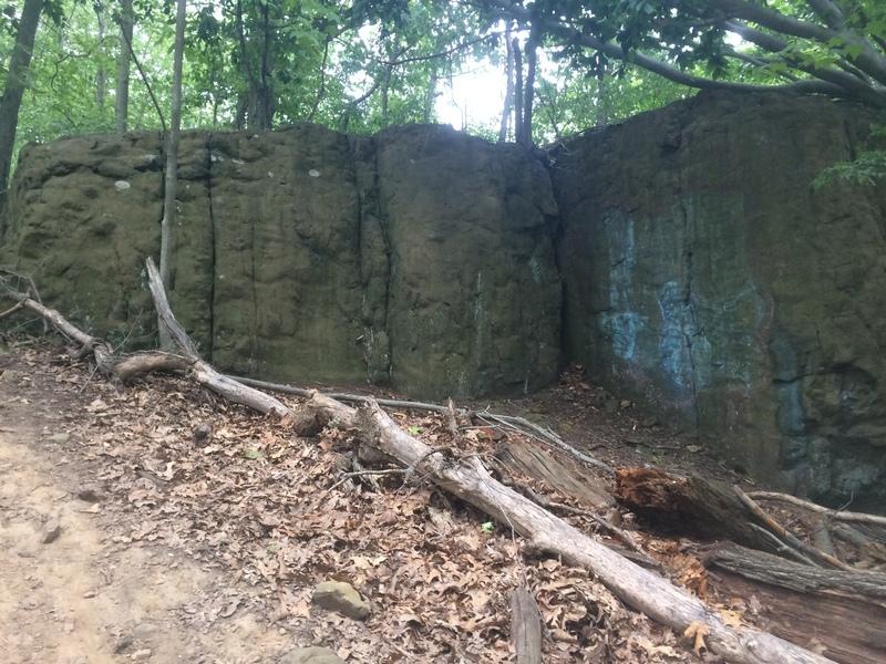 Rock Climbing Photo: NEAR WALL CLIMBS #13-15