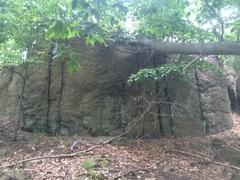Rock Climbing Photo: NEAR WALL CLIMBS #16-17