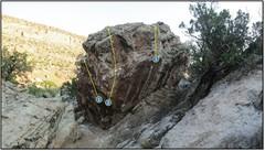 Rock Climbing Photo: 2. Ballad Foot.