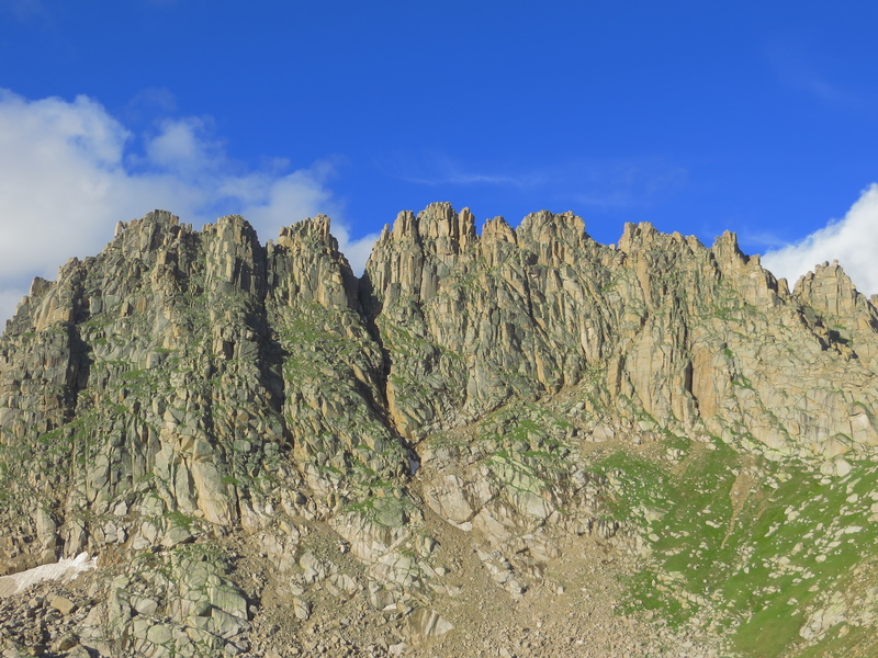 The North side of Jagged Mountain.