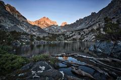 Rock Climbing Photo: Dragon Peak at dawn.
