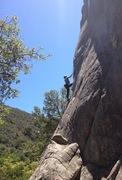 Rock Climbing Photo: Allison on Peels Of Laughter