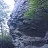 a little dirty, but pretty good climbing