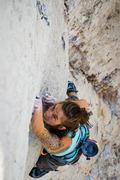 Thin and fun! Hard Wild Iris climbing.