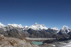 View from Renjo La pass