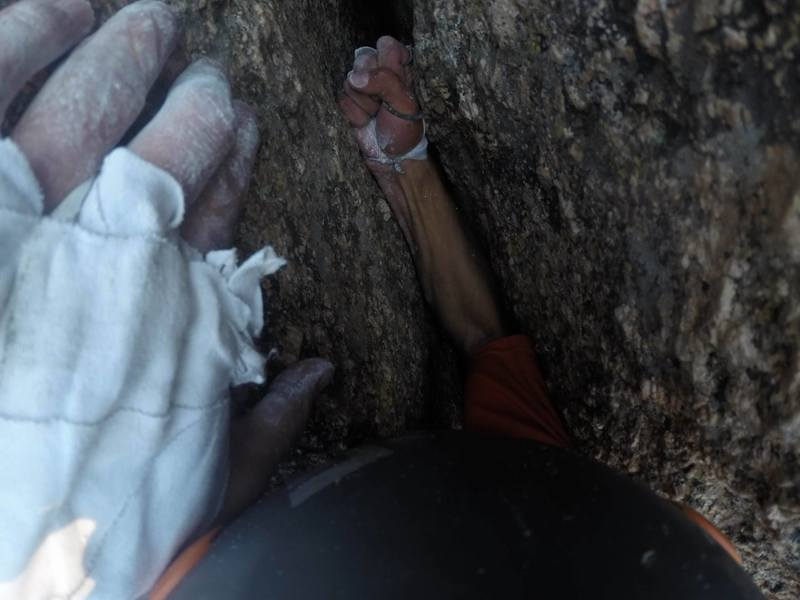 Rock Climbing Photo: Fist of Glory.